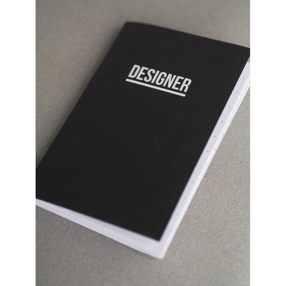 2in1 Notebook - Artist x Designer