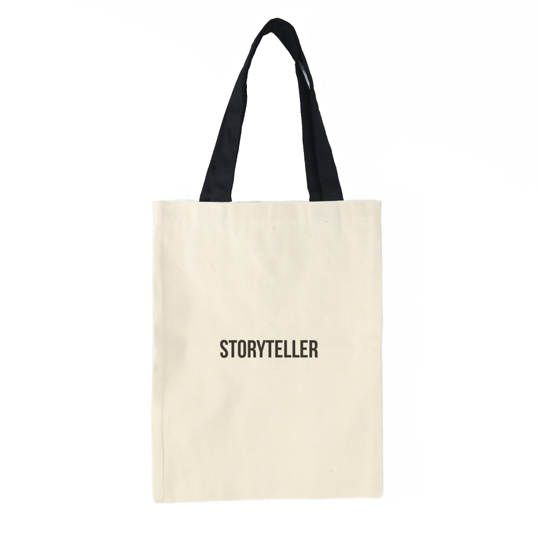 Storyteller Tote Bag (Cream)