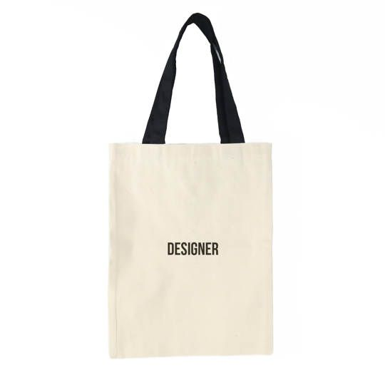 Designer Tote Bag (Cream)