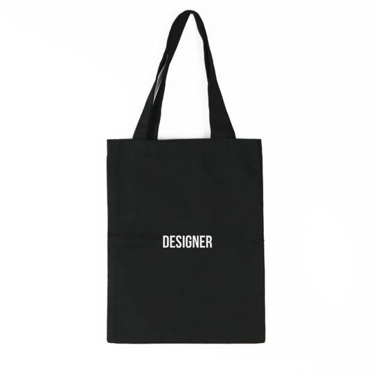 Designer Tote Bag (Black)