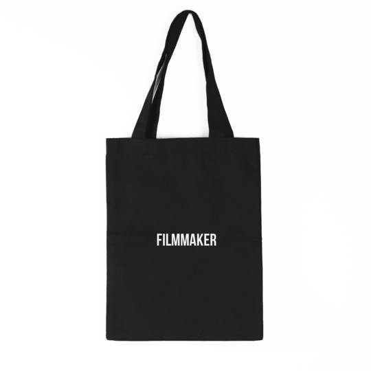 Filmmaker Tote Bag (Black)