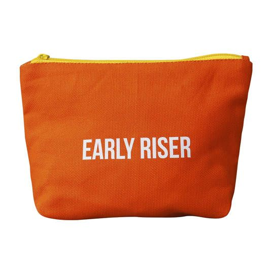 Early Riser Zipped Pouch