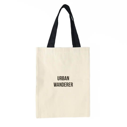 Urban Wanderer Tote Bag (Cream)