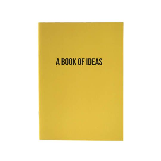 A Book of Ideas