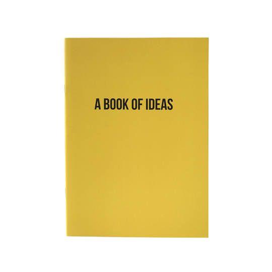 A Book of Ideas