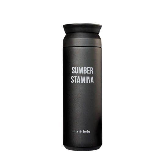 Tumbler Sumber Stamina Black