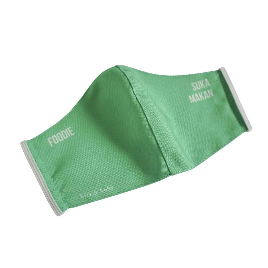 bits & bobs - Masker Anti Air Foodie - Green