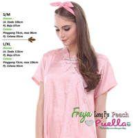 Freya Long Piyama Peach