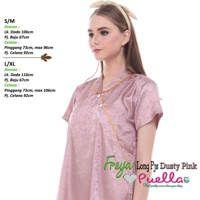 Freya Long Piyama Dusty Pink