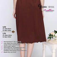 Ghania Dress Coklat