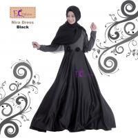Nira Dress Black/Baju Muslim