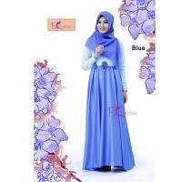Nira Dress Blue/Baju Muslim