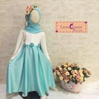 Nira Dress Kids/Baju Muslim Anak