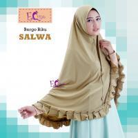 Bergo Biku Salwa/Hijab Syar'i