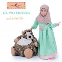 Elma Dress (Queen & Princess)/Baju Muslim Anak