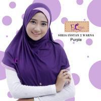 Siria Instan 2 Warna/Hijab Instan