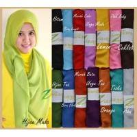Shawl Chiffon Polos/Hijab Modern