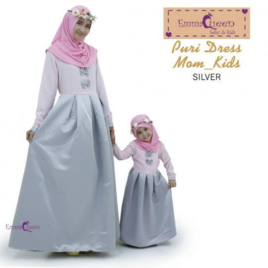 Puri Dress Kids/Baju Muslim Anak