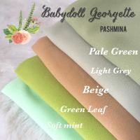 Pashmina Babydoll Georgatte/Hijab Modern
