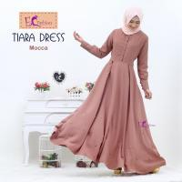 Dress Tiara Mocca/Baju Muslim
