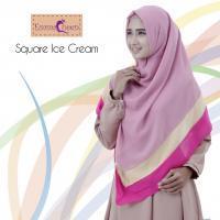 Square Ice Cream/Hijab Modern