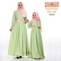 Ramona Dress Mom_Kids/Baju Muslim Anak