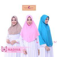 Jilbab Instan Nadiva (XL) / Jilbab Syar'i
