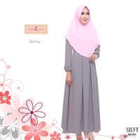 Silvy Basic Dress / Baju Muslim Terbaru