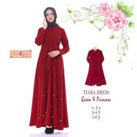Tiara Dress ( Queen & Princes ) / Baju Muslim Terbaru