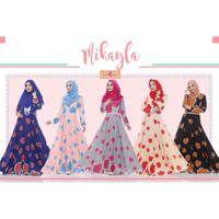 Dress Mikayla / Baju Muslim Terbaru