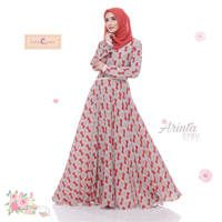 Dress Arinta / Baju Muslim Terbaru