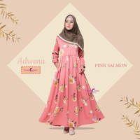 Dress Adrena / Baju Muslim Terbaru