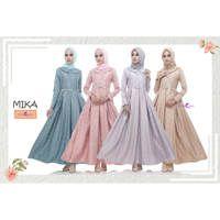 Dress Mika (New) / Baju Muslim Terbaru