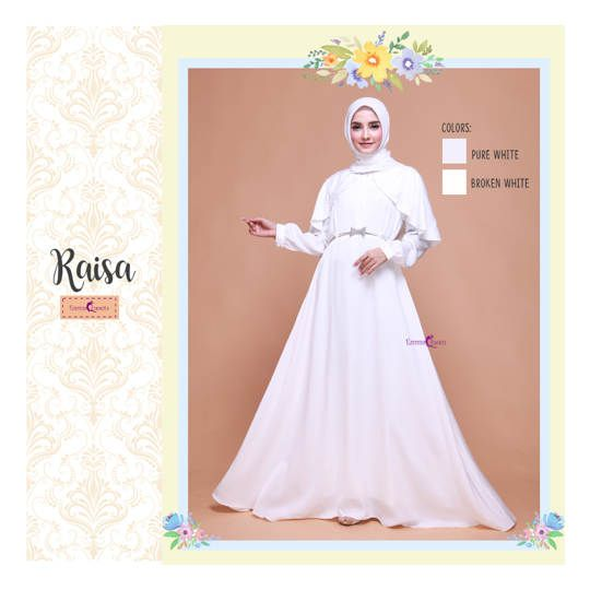 Raisa Dress / Baju Muslim Terbaru