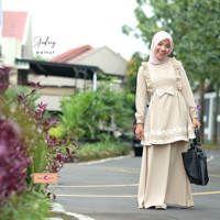 Dress Muslim Audrey / Gamis Audrey