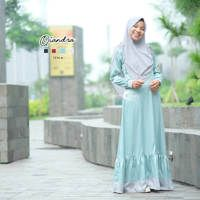 Dress Muslim Qiandra/ Gamis Qiandra