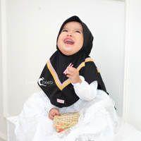 Jilbab Aqila Kids (XL) / Hijab Anak Terbaru