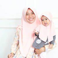 Jilbab Ghaitsa Kids (XL) / Hijab Anak Terbaru