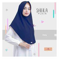 Jilbab Sheila Plain /Jilbab Instan Terbaru