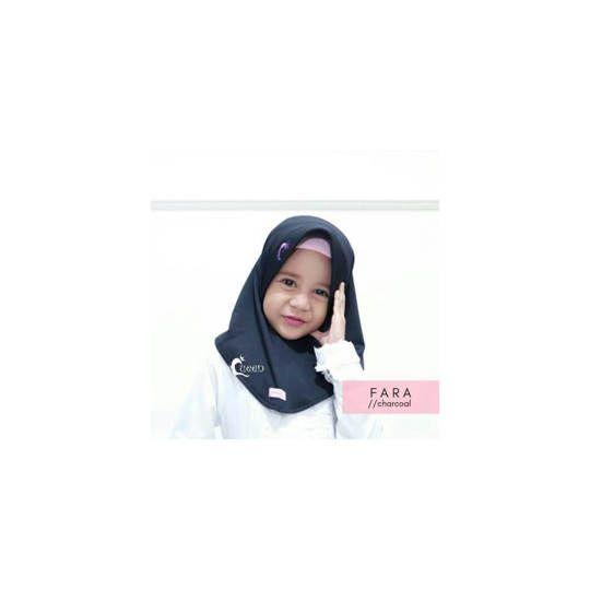 Jilbab Fara Kids / Hijab Anak Terbaru