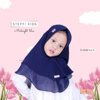 Khimar Steffy Kids (XL) / Hijab Anak Terbaru