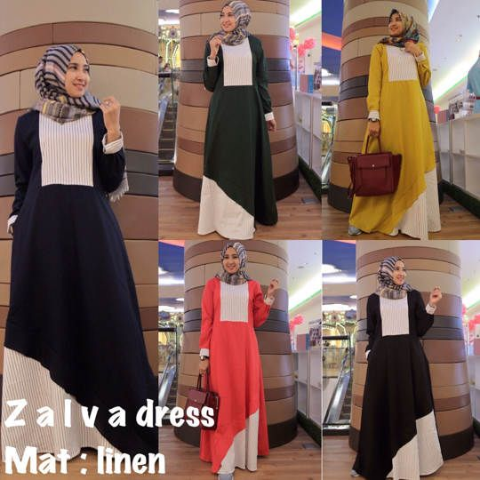 ZALVA DRESS ORIGINAL GAGIL