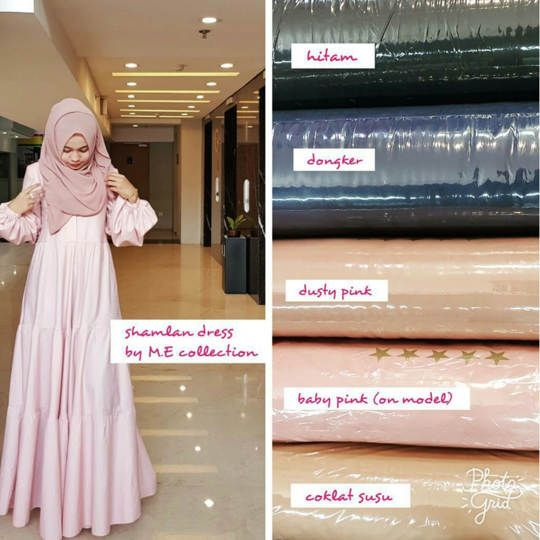 SHAMLAN DRESS ORIGINAL ME COLLECTION