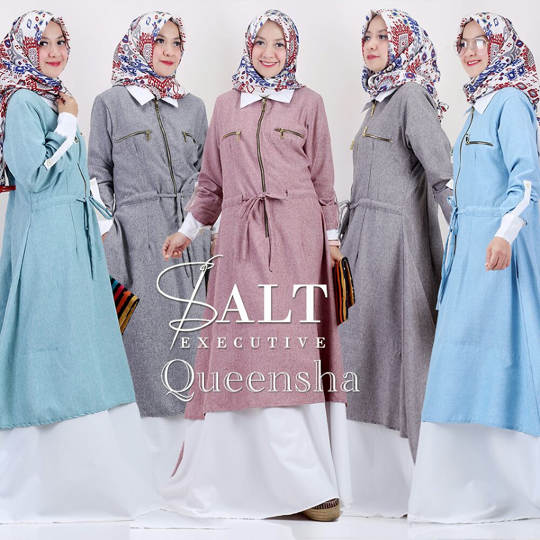 QEENSHA DRESS ORIGINAL SALT EXECUTIVE