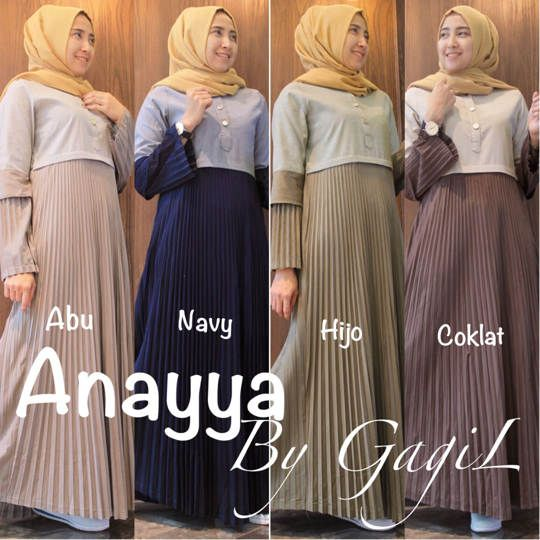 ANAYYA DRESS ORIGINAL GAGIL