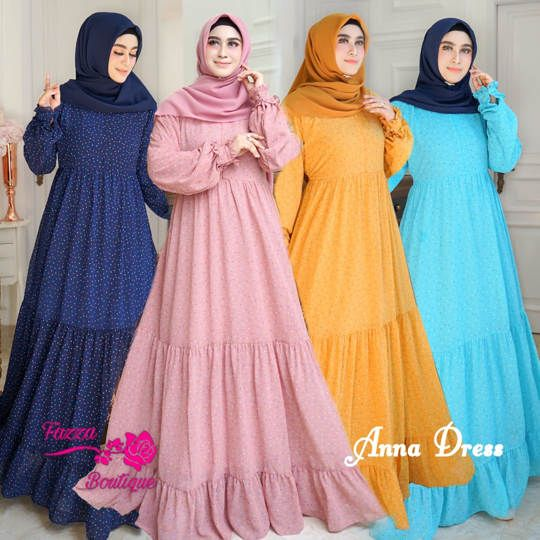 DRESS ANNA ORIGINAL FAZZA BOUTIQUE