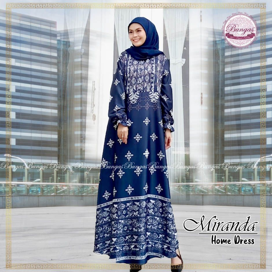 DRESS MIRANDA ORIGINAL BUNGAS FASHION