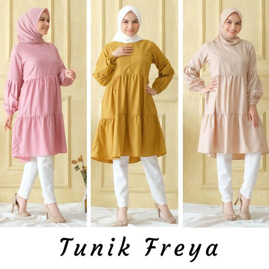 TUNIK FREYA ORIGINAL IRISH LABLEL