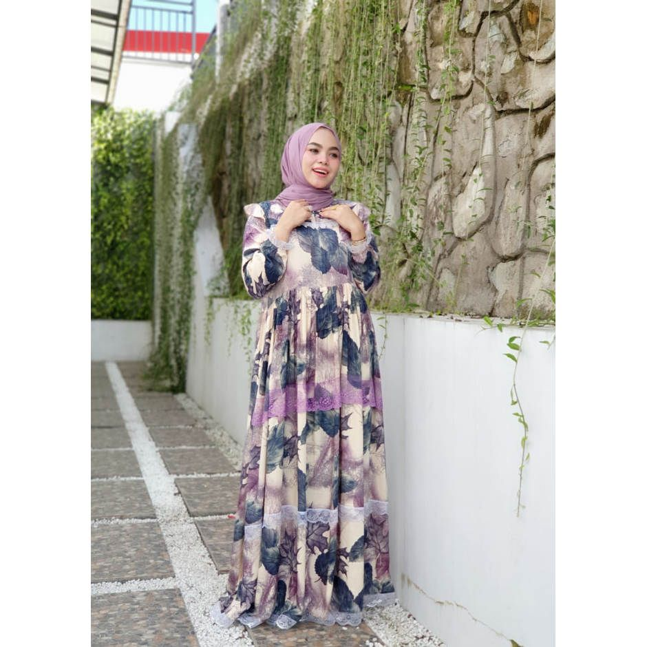 DRESS LEAFLACE ORIGINAL SIMA COLLECTION