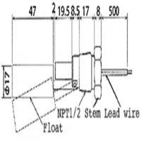 Float Level Switch Riko RFS-12-1